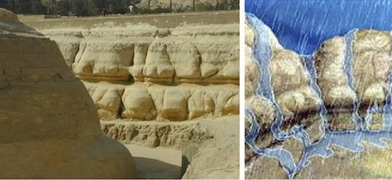 スフィンクスの壁と浸食形式