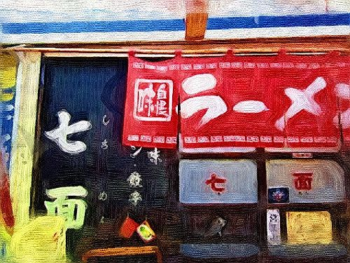 5004shichimenn(油彩)