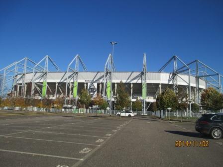ヨーロッパで一番美しいスタジアムと言われています