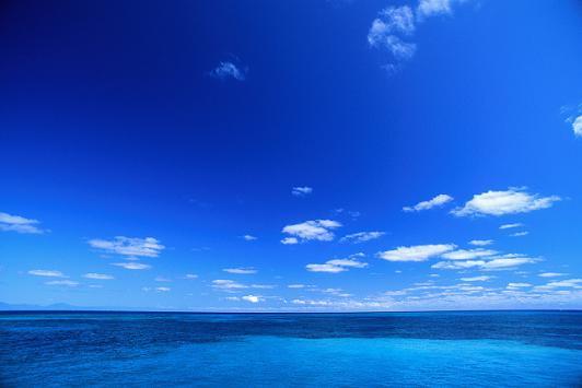 爽やかな海