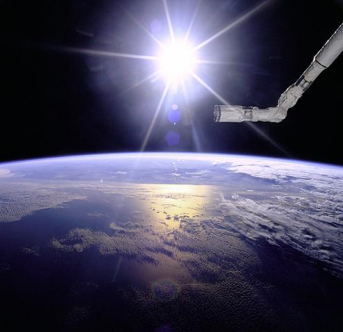 光満てる地球