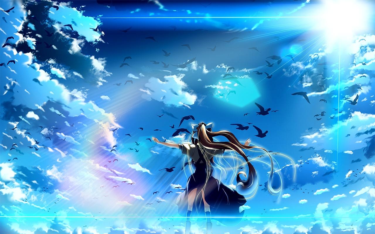 Pics Photos - Kamio Misuzu Anime Girls Air Anime Wallpaper Background Misuzu Kamio Wallpaper