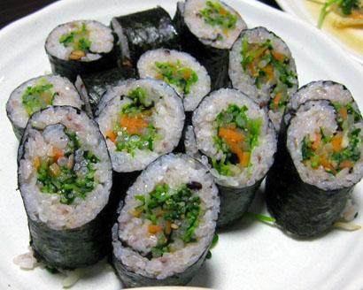 ナムル巻き寿司