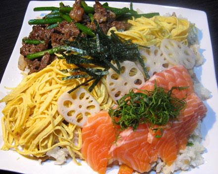 よくばったちらし寿司