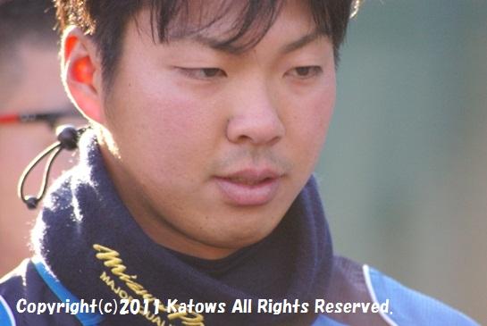 十亀投手(ドラフト1位)