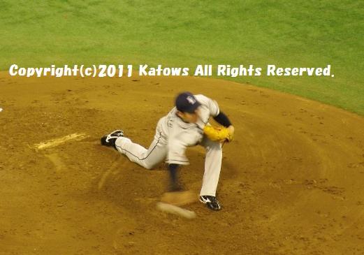 牧田和久投手3