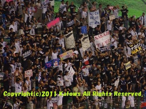 中島選手 7月31日レフトスタンド