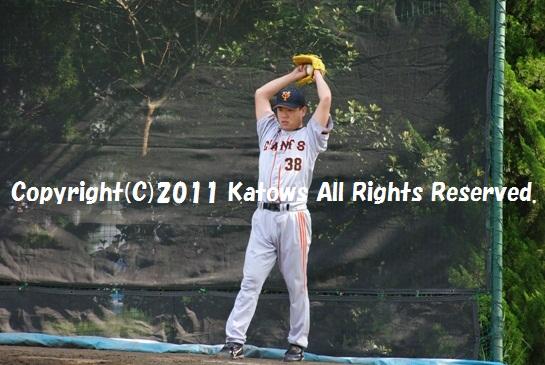 朝井秀樹投手3