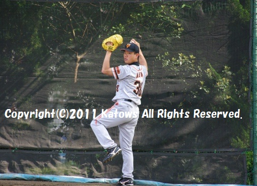 朝井秀樹投手4