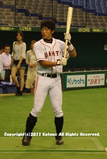 藤村選手 打撃練習1