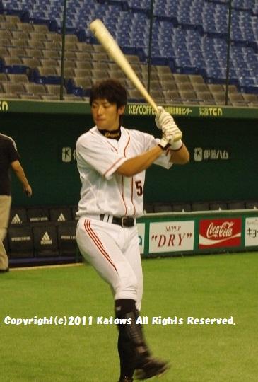藤村選手 打撃練習2