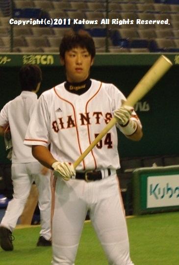 藤村選手打撃練習4