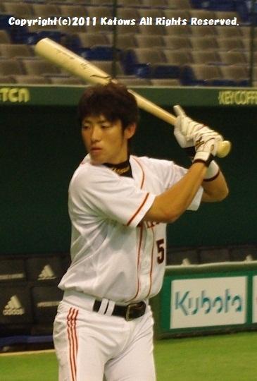 藤村選手打撃練習5