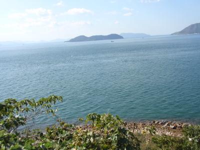 与島から見た瀬戸内海