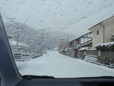 雪国への道