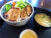 箱根豚味噌漬丼