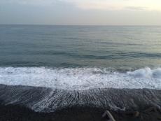 この時期のこの時間だとこんな感じなのね。 #海 #海photo