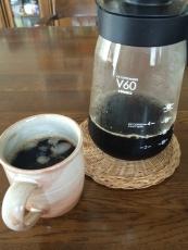 bitterなアイスコーヒー早速淹れてみた。勿論アイスで。確かに苦い。極端な言い方をすれば苦味しかない。まさにこれぞアイスコーヒーって味。 #澤井珈琲