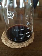bitterなアイスコーヒー、苦味が妙に口に残って後を引く。存外早く飲み切るかも。 #澤井珈琲