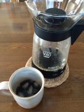 bitterなアイスコーヒー、今日も淹れてみた。昨日よりもっと苦くなった感じがする。激苦。 #澤井珈琲