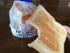この食パン塩っぺぇな。 #ファミマ