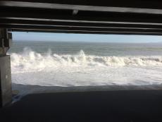 今日は流石に波が高い。波の音がものすごい。 #海 #海photo