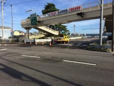 西湘バイパス封鎖されてる。#odawara