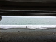今日は白っぽい緑色。 #海 #海photo