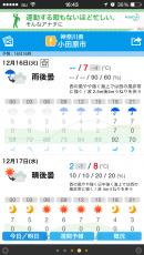 昨夜の予報よりさらに気温が低いみたいだな。まだ夕方以降気温が上がる予報になっているが、さてどうなることか? #odawara