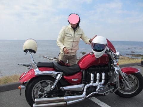 バイクと夫