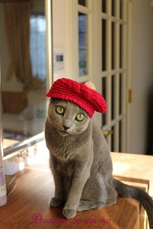 1.パロジェンヌ(帽子)