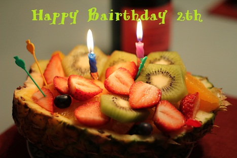 2才誕生日