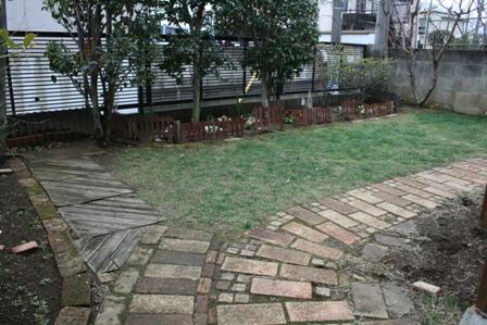 主のいない庭