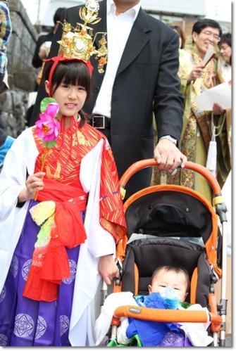 お稚児さん hinamaruko たいちゃん