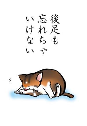 猫絵本「みだしなみ」7