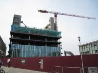 建設中の図書館
