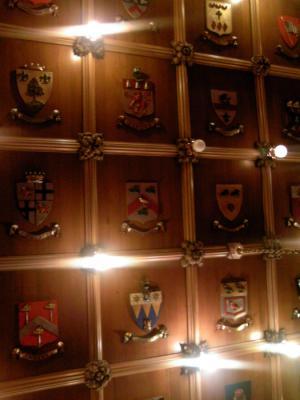 St Nicholas Room の天井