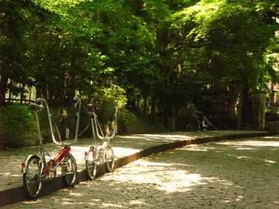 Bickerton bicycles in Kamakura