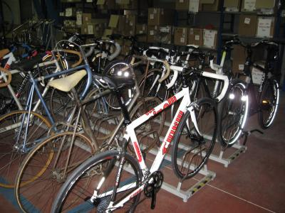 Cinelli factory bike collection