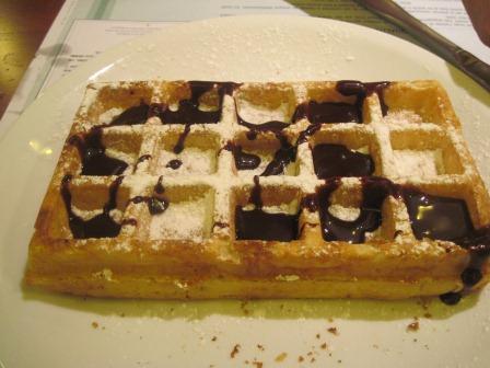 デザート:ベルギーワッフル