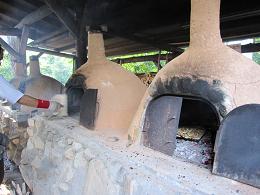 八千代校舎のピザ釜