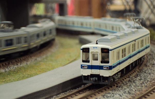 グリーンマックス 東武8000系更新車