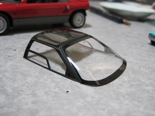アオシマ AZ-1 ガラス