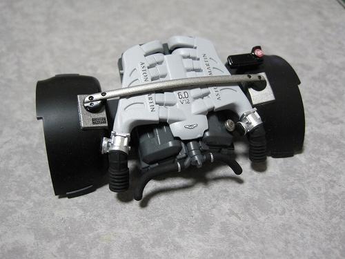 タミヤ アストン エンジン