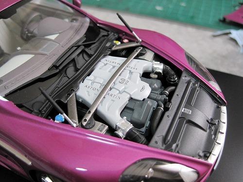タミヤアストン エンジン