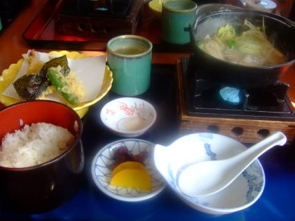3月27日 牡蠣の味噌鍋定食