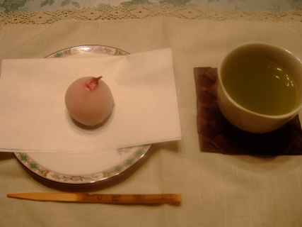 3月27日 桜の和菓子