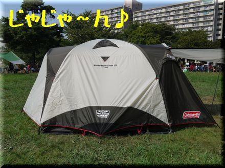 テント張ったどぉー!!2