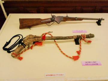 子八重作の鉄砲