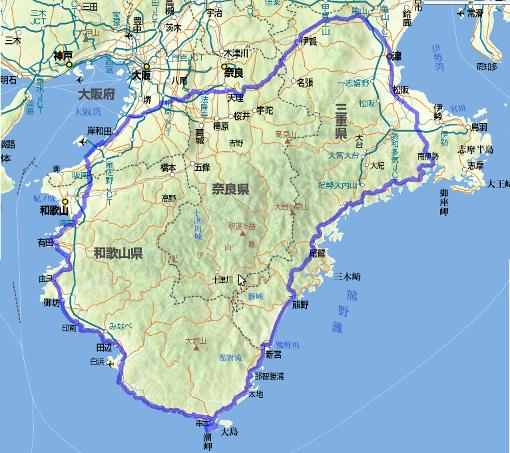 BRM605近畿600マップ